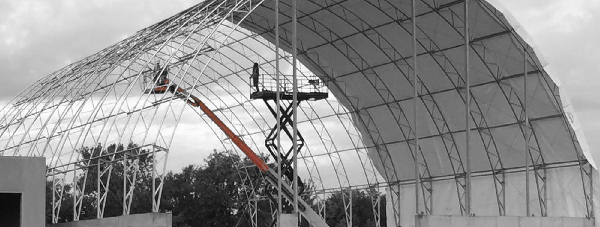 Fabric & Steel Buildings - Turnkey - Construction - National